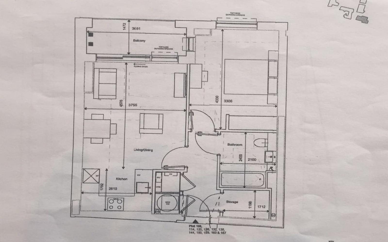 1 Bedrooms, Flat, For Sale, Wandsworth Road, 1 Bathrooms, Listing ID 1041, United Kingdom, Nine Elms,